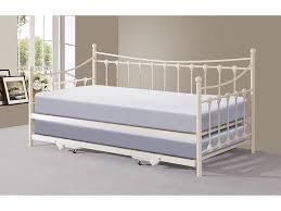 gfw memphis ivory metal day bed with