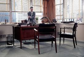 mad men office furniture. Desk Area On Mad Men. The Importance Of Being Vintage: Harvey Specter  Vs. Don Draper: Different Eras, Same Irresistibly Suave Office Style Mad Men Office Furniture N