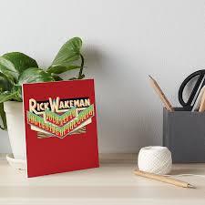 """<b>Rick Wakeman</b> - <b>Journey</b> to the Centre of the Earth"" Art Board Print ..."