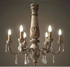antique wood chandelier furniture metal and wood chandelier awesome y decor 6 light brown with beads