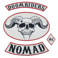 doomrider nomad leather patches iron on