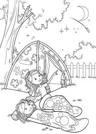Small Picture Camping coloring pages for girls ColoringStar
