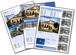 real estate  listing flyer templates  premier agent   real estate listing flyer templates