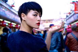 画像 個性的な髪型の女性 有名人芸能人ヘアスタイル Naver まとめ