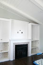 52 diy fireplace built in tutorial