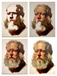 old man portrait step by step by w4saviour on deviantart