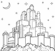 With princess castle coloringyou get a different. Printable Unicorn Castle Coloring Page Novocom Top