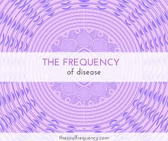Vibrational Frequency Chart The Frequency Of Disease The Soul Frequency