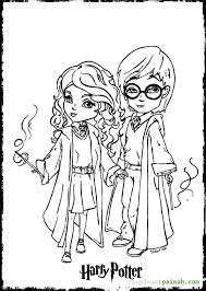 Small Picture 321 best Coloring pages images on Pinterest Harry potter parties
