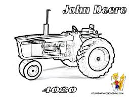 Earthy Tractor Coloring Pages | Farm Tractors | Free | Farmers ...