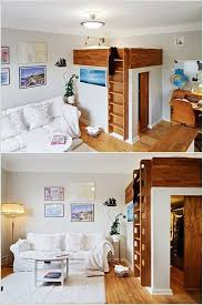 loft bed with closet underneath 10 life changing interior design ideas for small spaces
