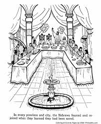 Small Picture Queen Ester Old Testament Coloring Pages Bible Printables