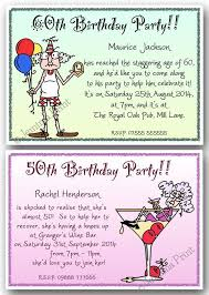 funny kids birthday invitation 40th 50th 60th 70th 80th 90th personalised birthday party