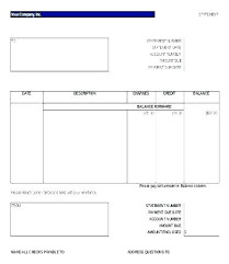 Statement Of Earnings Template Bank Statement Template Doc Monthly Stock Format Download
