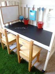 view in gallery diy chalboard home office desk