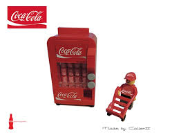 Coca Cola Vending Machine Manual Delectable Vending Machine Lego FOREX Trading