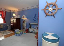 nautical living room furniture nursery eclectic with anchor armoire blue walls nautical furniture decor
