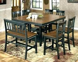 square table set for 8 patio chairs dining room tables seats and furniture magnificent