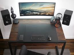 Gaming office desk Shaped Minimalistic Wooden Gaming And Office Desk Youtube Minimalistic Wooden Gaming Desk For Your Room