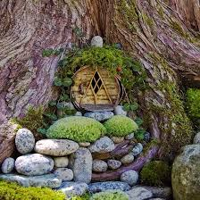 fairy garden images. Interesting Fairy 1 Tree Door Fairy Garden On Fairy Garden Images R