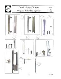 pella sliding door adjustment sliding door handle interior pull roman pella sliding door adjustment