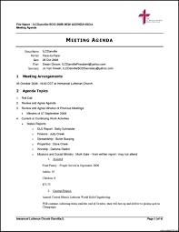 Agenda Format Sample Sample Agenda Template Word Format Powerpoint Example Letter