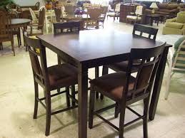 Triangular Kitchen Table Sets Ashley Emory Triangle Pub Table Dining Set Round Pub Table Chairs