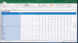 3c Cleaning Data From A Time Series Chart In Excel