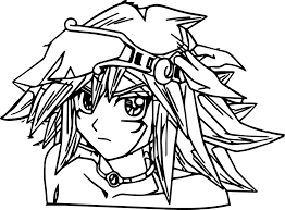 Small Picture Perfect Yu Gi Oh Yugioh Coloring Page Wecoloringpage