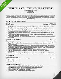 Resume For Business Analyst Position Custom It Business Analyst Resume Swarnimabharathorg