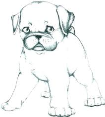 Charming Dog Coloring Pages Printable Cartoon Dog Coloring Page