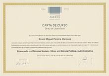 bachelor s degree  another example of a portuguese licenciatura degree diploma