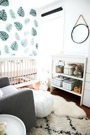 baby nursery tropical baby nursery the best island inspired images on child room leafy green