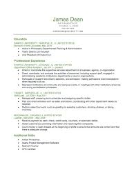 Us Resume Format Elegant Example A Student Level Reverse