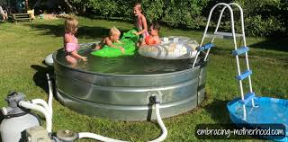 have you ever thought about making a stock tank pool for your backyard my husband and i learned through a lot of trial and error how to do it