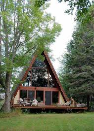 AFrame Cabin Kit  BalsaTron IncA Frame House Kit