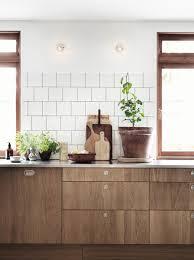 Walnut Kitchen Floor Concrete Floor And Wooden Cupboards Via Cocolapinedesigncom