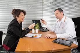 Pharmaceutical Representative Pharmaceutical Sales Representative Stock Photo Picture And Royalty