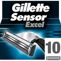 <b>Кассеты Gillette Sensor Excel</b> для бритвенного станка купить с ...