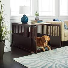 Wooden Extra Large Espresso Pet Crate End Table - Free Shipping Today -  Overstock.com - 20030476