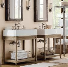 best of restoration hardware vanity table with restoration hardware vanity strand mirrored single vanity