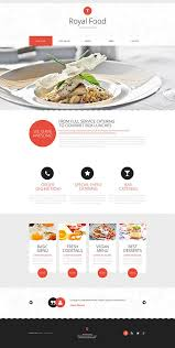 Restaurant Website Templates Stunning Royal Food Catering Company Website Template Themes Business