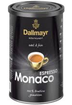 The quantities are still measured on historic balances. Dallmayr Coffee Perfectly Refined Premium Quality