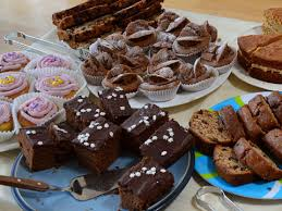 May Cake Sale For Christian Aid Thurc