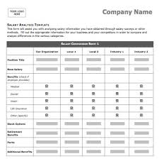 Ms Office Proposal Template Salary Comparison Sheet Template Ms Office Guru Proposal