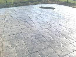stamped concrete patio thickness edmonton patio 54 pics