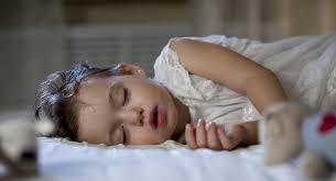 toddler sleep habits snorting