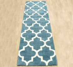 pretentious teal hall runner arabesque light rugs modern stuff to