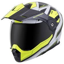 Details About Scorpion Exo At950 Tucson Modular Motorcycle Helmet Hi Vis