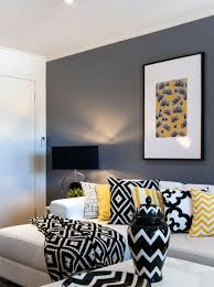 black white living room furniture. a look at cathy elsmoreu0027s black yellow and white living room rooms favorite color furniture i
